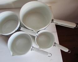 Lot de 4 casseroles Aluminite de Frügier