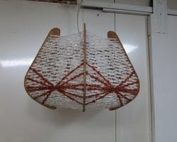 Suspension scandinave, bois et fil tendu , 1960s