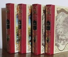 Lot de 4 livres: J.Verne et H.Malot, editions Famot , 1978, vendu