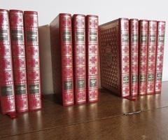 Série de 11 livres reliés d'Alexandre Dumas