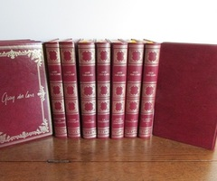 Collection de 11 livres reliés de Guy Des Cars