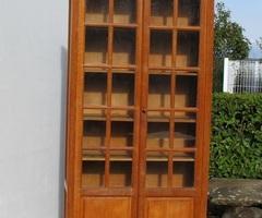 Belle bibliothèque deux vantaux en chêne