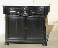 Buffet Napoléon III en bois noirci , vendu
