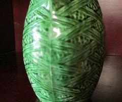 Pichet vert Saint Clément, en très bon état