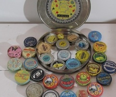 Collection de boites métal : Cachou, Teddy smith, Areka et autres....