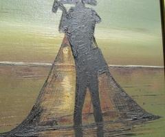 Tableau d'un peintre signé Harroy