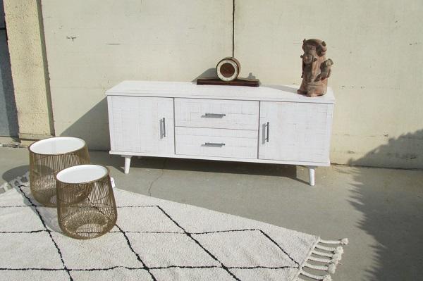 "Enfilade , meuble bas de fabrication française, style "" palette """