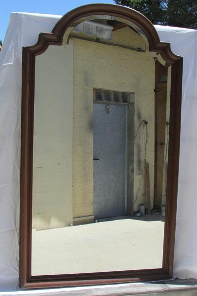 Très grand miroir de pied