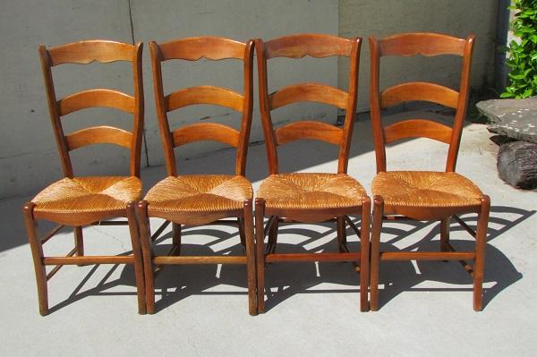Lot de 4 chaises ergonomiques