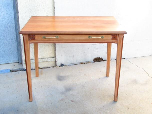 Table d'écriture , bureau plat, table d'appoint