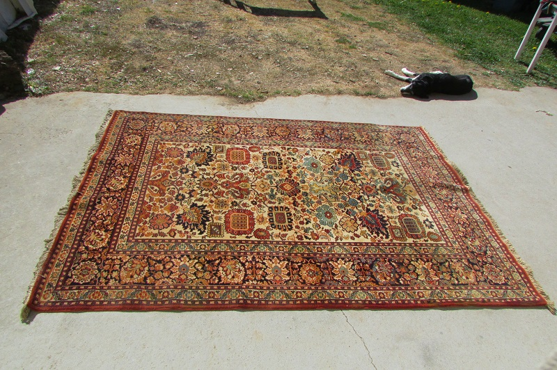 Tapis pure laine persiakhan , 245 x 166 cm